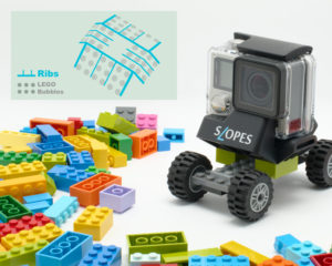 SLOPES Black for GoPro with LEGO