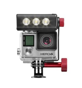 Off road ThrilLED Light & Bracket for GoPro cameras