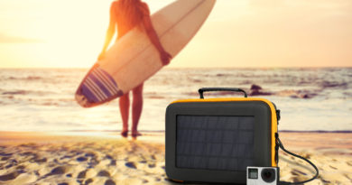 SunnyBAG Action Solar Case