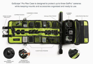 Top 10 GoPro Accessories For Travelling- Pro Flex Case by GoScope