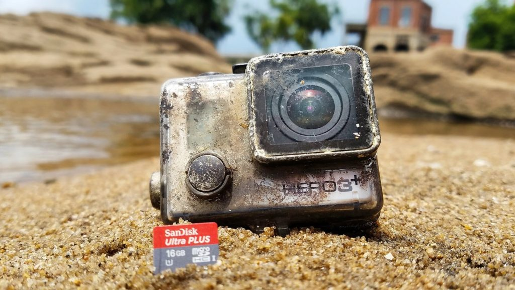 GoPro found after 1 year