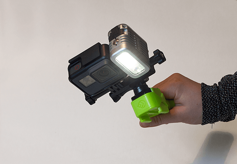 Knog Qudos action video light 3
