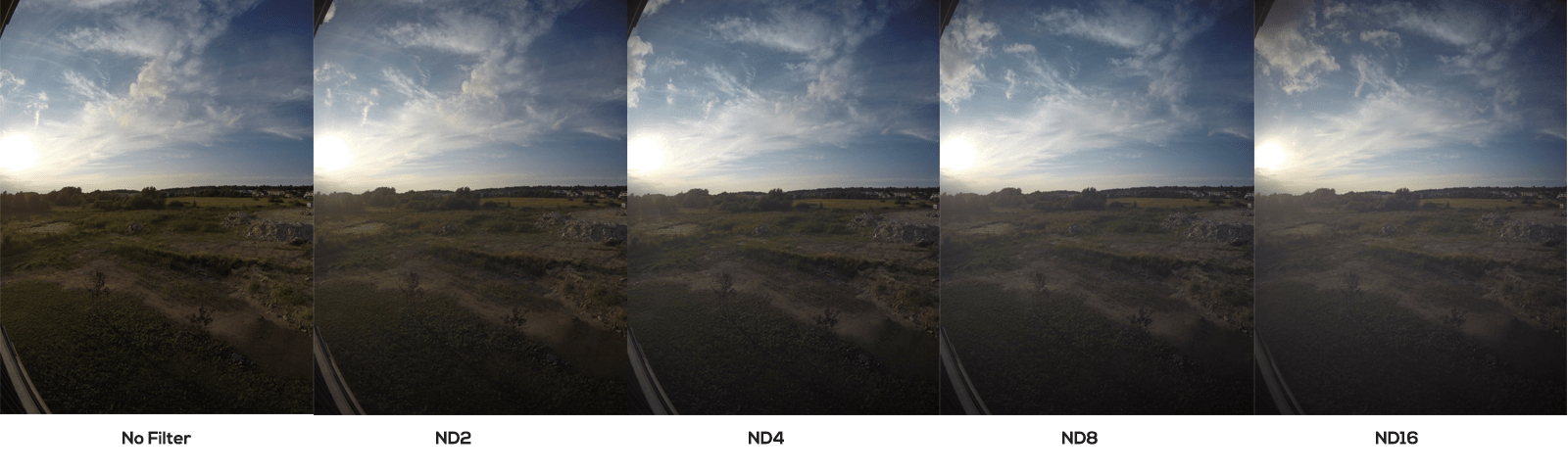 CamKix Cinematic Filter Pack sidebyside comparison