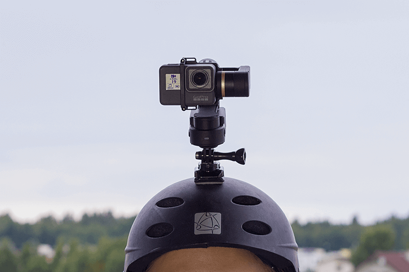 Feiyu Tech WG2 helmet mount