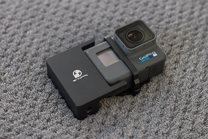 Snoppa M1 with GoPro Hero6 adapter