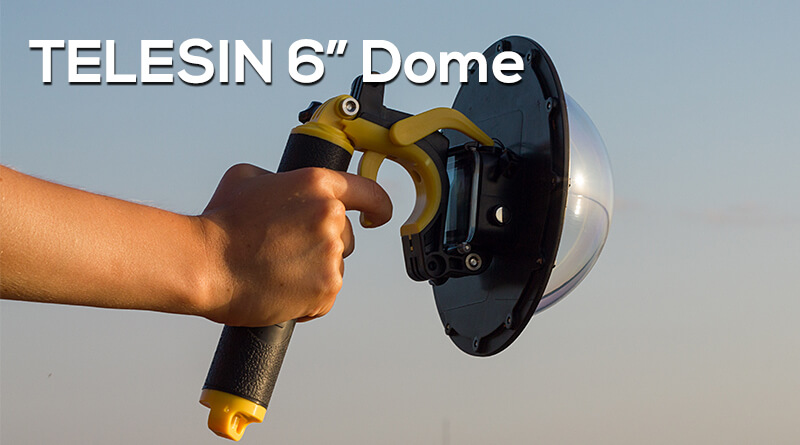TELESIN 6 Dome Port