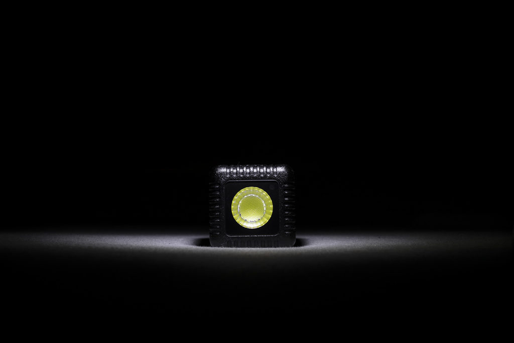 Lume Cube lit by Lume Cube