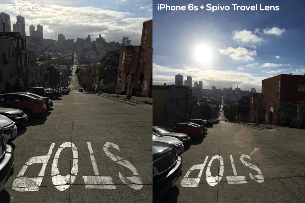Spivo Travel Lens comparison