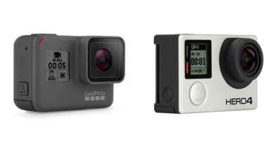 GoPro Hero5 vs Hero4