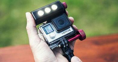 Off road ThrilLED Light & Bracket for GoPro cameras