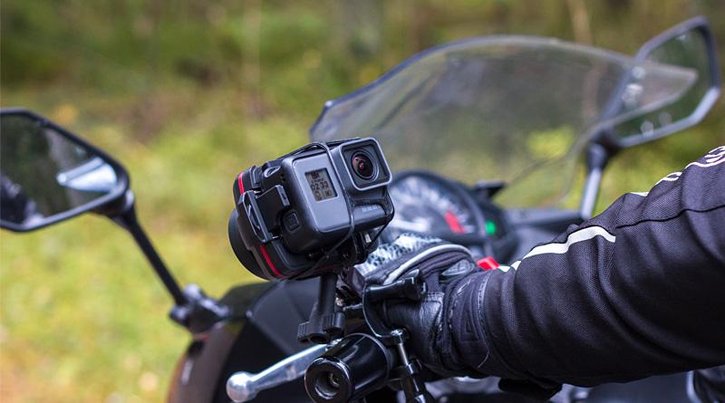 Wenpod X1 on a bike