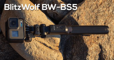 BlitzWolf BW-BS5 Bluetooth Long Extended Tripod Selfie Stick