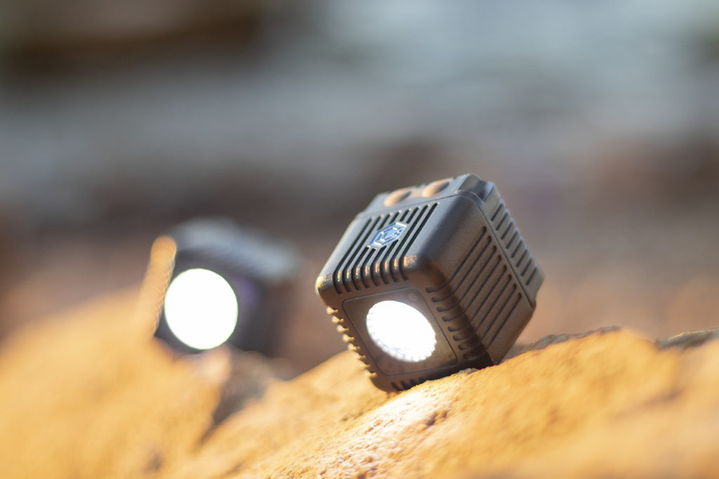 Lume Cube LED Light Two Pack side by side for GoPro Holiday Gift Guide