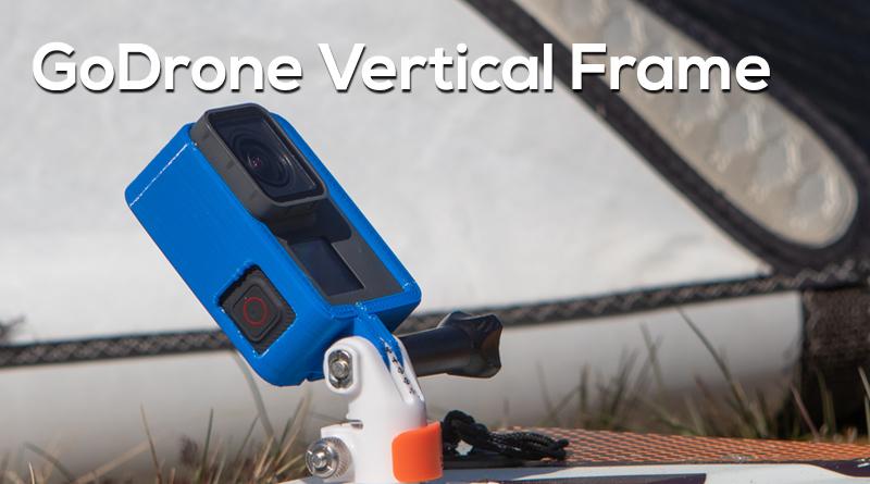 GoDrone Vertical GoPro Frame