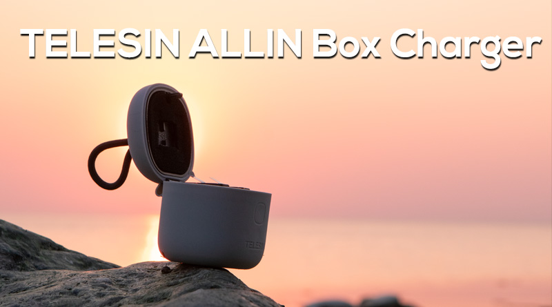 TELESIN ALLIN Box Charger for GoPro cameras