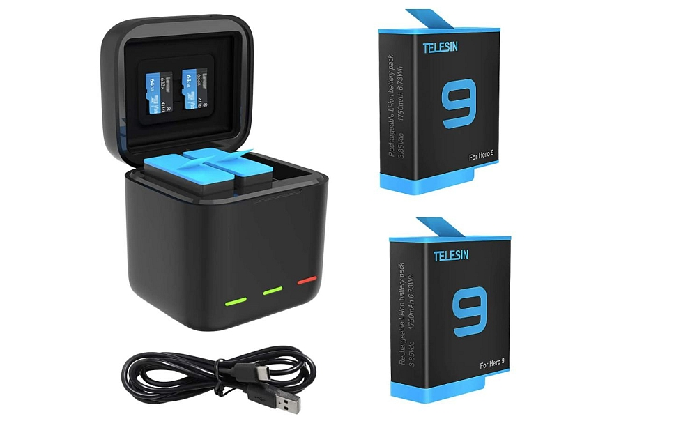 TELESIN ALLIN Box Charger for GoPro