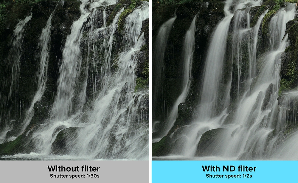 ND filter image sample